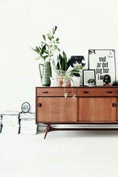mid-century modern furniture | dining room, living room
