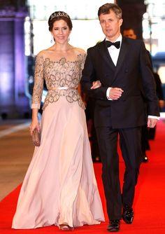 Crown Princess Mary of Denmark in Birgit Hallstein