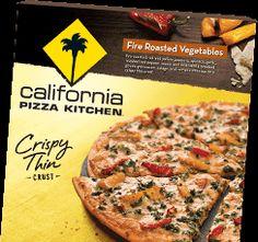 California Pizza Kitchen Mushroom and Green Onion Crispy Thin ...