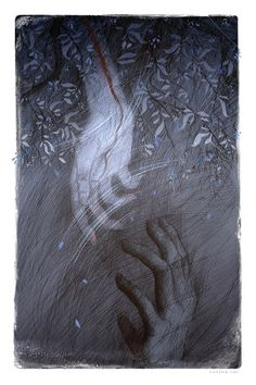 Wuthering Heights-inspired  art by Rovina Cai  (sidenote:I wish I could Art...)