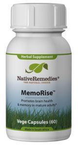 MemoRise is advertised as an herbal formula designed to support brain health and to reduce common age related memory loss and forgetfulness. http://www.brainreference.com/memorise/
