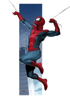 #Spiderman #Fan #Art. (Spider-Man) By: Yvan Quinet. (THE * 5 * STÅR * ÅWARD * OF: * AW YEAH, IT'S MAJOR ÅWESOMENESS!!!™)[THANK Ü 4 PINNING!!!<·><]<©>ÅÅÅ+(OB4E)
