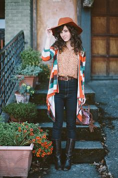 Autumn Orange by Delightfully Tacky, via Flickr