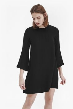 French-Connection-Emma-Bell-Sleeved-Tunic-Dress