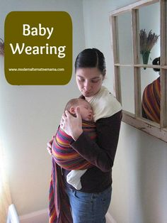 I'm betting most of you who are here know what baby wearing is. For any who don't, baby wearing is using some type of carrier or sling to hold your baby against your body. Babies are worn a number of different ways, for many different reasons. I'll detail some of those reasons for you, as well as discussing different types of carriers and their uses.