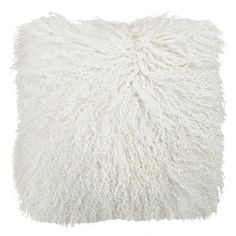 Natural White Tibetan Fur Cushion by Park Avenue. Get it now or find more Indoor Cushions at Temple & Webster. Outdoor Cushions, Floor Cushions, White Bedroom Decor, Cushions Online, Interiors Online, Velvet Cushions, Australia Living, Inspirational Gifts, White Patterns