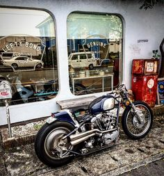 """She will be coming back to Yokohama December . Please stop by our booth at #hrcs2016 and look at every detail in this bike """" LEFTYBOND ~2nd version ~ . See you soon at Yokohama #hrcs !! #shovelhead #chopper #bobber #caferacer"""