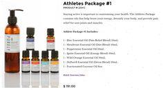 Athletes Package #1 BePure.ly/meshallie