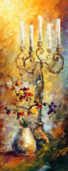 Oriental Dreams Set of 3 Paintings PALETTE door AfremovArtStudio