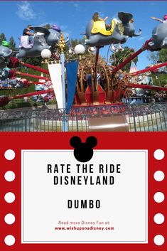 Rate the Ride Dumbo the Flying Elephant. Is it just for kids or fun for everyone! Disneyland Resort California, Dumbo The Flying Elephant, Disney Rides, Fireworks, Fun Facts, Presentation, Holiday Decor, Christmas, Kids