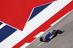 2016 US GP Felipe Nasr (Sauber)