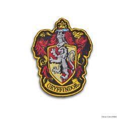 Gryffindor Crest™ Embroidered Patch | Gryffindor™ | Warner Bros Studio Tour London