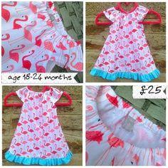 Girls peasant dress 18-24 months £25.00