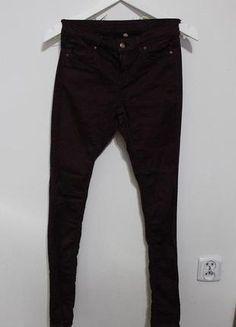 Top Shop bordowe rurki S 36 Parachute Pants, Asos, Zara, Nike, Fashion, Moda, Fashion Styles, Fashion Illustrations