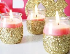 How to Throw a Breast Cancer Awareness Party | set the mood with pink candles