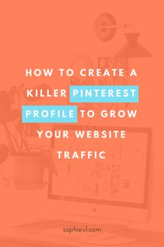 Driving traffic to your site from Pinterest starts with setting up a great Pinterest profile. Do this and your future efforts will generate more results!