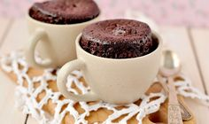 2 min Chocolate cake in a mug