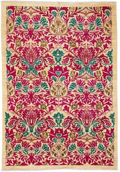"""Arts & Crafts, Hand Knotted Area Rug - 5' 0"""" X 7' 8"""" on Chairish.com"""