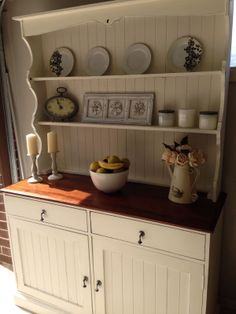 beautiful buffet hutch dresser sideboard restored in french provincial style