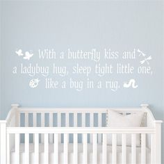 @rosenberryrooms is offering $20 OFF your purchase! Share the news and save!  Butterfly Kisses Wall Decal #rosenberryrooms