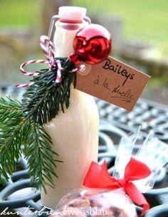 Geschenke aus der Küche – Selbstgemachter Baileys und gebrannte Mandeln