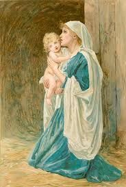 Image result for paintings of virgin mary
