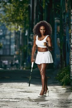 "Serena Williams is one daring woman. See all of BAZAAR's ""Women Who Dare"":"