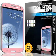 Colored screen protector. Protection and affection. Lol.