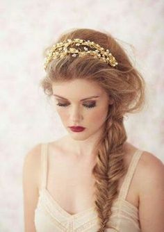 #bride #braid #make-up