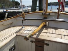 """2008 Thomas Gilmer Blue Moon Yawl """"TIME"""" Won 1st place Concourse d'Elegance at the 2012 Wooden Boat Show at Mystic Seaport June 29 – July1, 2012 