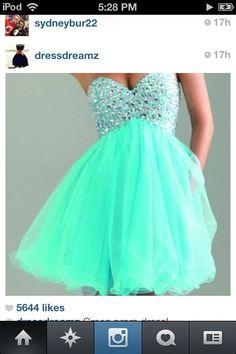 Cute Green Prom Dresses - http://rainbowplanetproject.com/cute-green-prom-dresses/