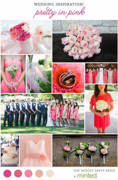 Pretty Pink Wedding Inspiration