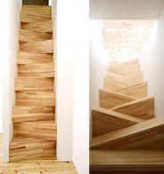 Un escalier suspendu - Marie Claire Maison