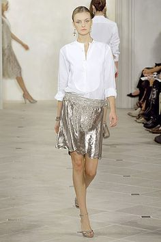 Ralph Lauren Spring 2007 Ready-to-Wear Fashion Show - Caroline Trentini