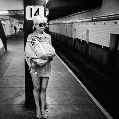 Debbie Harry by Chris Stein.