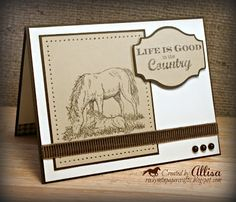 D1543+Country+Born+Close+To+My+Heart+Brown+Horse+Card.jpg (400×344)
