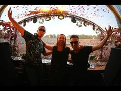 Nicky Romero vs David Guetta vs Afrojack - Live at Tomorrowland 2013 in Belgium- YouTube