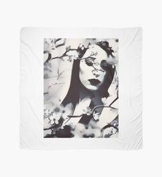 'Woman' Scarf by Scarf Design, Sell Your Art, Womens Scarves, Fan Art, Seasons, Woman, Artist, Stuff To Buy, Seasons Of The Year