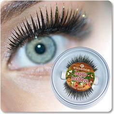 """hi beauties, with these false lashes from the trend edition """"happy holidays"""", you're sure to attract plenty of attention at christmas time thanks to the eye-catching golden tips – we like! and you?"""