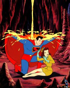 Classic Superman and Lois
