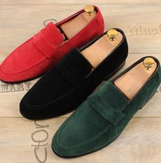 46e9415e480 Vogue Mens Flat Loafers Slip on Suede Driving moccasin Casual Shoes gommino  NEW  fashion