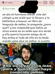 Me prometí que no lloraría. Funny Times, Sad Stories, I Don T Know, Creepypasta, Best Memes, Faith In Humanity, Just In Case, Laughter, Life