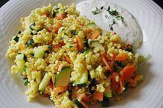 Hirsepfanne mit Joghurtsoße, ein leckeres Rezept aus der Kategorie Gemüse. Bewertungen: 258. Durchschnitt: Ø 4,4.