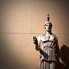 Athena Parphenos. Pushkin museum of fine arts. Moscow. Russia.