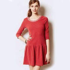 Anthropologie Textured Knit Dress