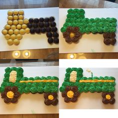 cupcake cake tractor Click here to email a question to Juliet