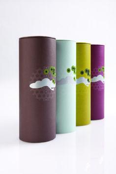 nouveau tea packaging