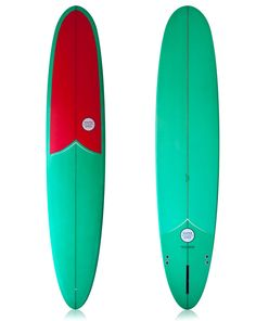 "WATERSHED SHE CAPTAIN LONGBOARD 9'0"" WATERMELLON - SURF - SURFBOARD - TWIN 
