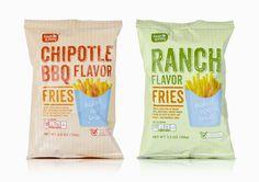 Pemberton & Whitefoord (P&W) – London NW1, UK | Fresh & Easy | 2012 #crisps #fresh #easy #packaging #design #chipotle #bbq #fries