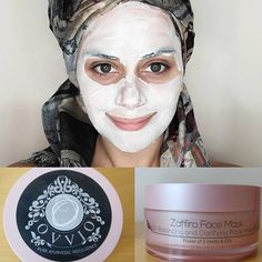 Mask of the day = Ovvio Oil Balancing Mask I wanted to add some moisture into m. Pimple Mask, Face Mask For Blackheads, Face Scrub Homemade, Homemade Face Masks, Olive Oil Face Mask, Argan Oil And Shea Butter, Face Brightening, Moisturizing Face Mask, Beauty Tips For Teens